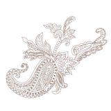 Paisley Henna Ornament Royalty Free Stock Photography