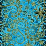 Paisley-Hintergrund stock abbildung