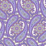 Paisley illustration pattern Royalty Free Stock Photo