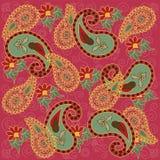 paisley kolorowe menchie Obrazy Royalty Free