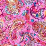 paisley kolorowy wzór Fotografia Stock