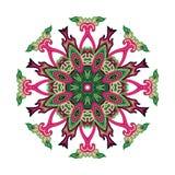 Paisley kwiat Obrazy Stock