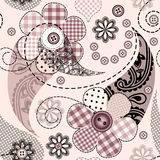Paisley lace background Royalty Free Stock Photos