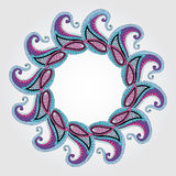 Paisley mandala Royalty Free Stock Photography
