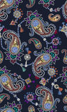 Paisley modell som består av smycken och modesmycken Royaltyfria Bilder