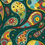 Paisley-Muster Lizenzfreies Stockfoto