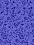 Paisley-nahtlose Blumenfarbdesign-Mustergrenze Stockbilder