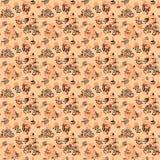 Paisley-nahtloses Blumenfarbdesignmuster Lizenzfreies Stockbild