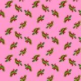 Paisley-nahtloses Blumenfarbdesignmuster Lizenzfreie Stockfotografie