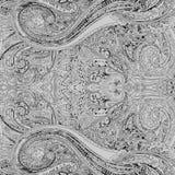 Paisley-nahtloses Blumenfarbdesignmuster Lizenzfreie Stockbilder