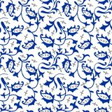 Paisley-nahtloses Blumenfarbdesignmuster stockfotos