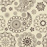 Paisley-nahtloses Muster Stockfotos