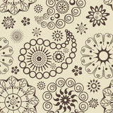 Paisley-nahtloses Muster vektor abbildung