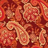 Paisley-nahtloses Muster Lizenzfreie Stockbilder