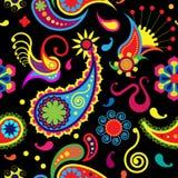 Paisley-nahtloses Muster Stockbild