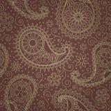 Paisley-nahtloses Muster Stockfotografie
