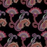 Paisley-nahtloses Muster Lizenzfreies Stockfoto