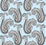 Paisley-nahtloses Muster Stockbilder