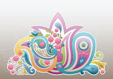 Paisley ornament royalty free stock images