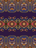 Paisley ornament background Royalty Free Stock Image