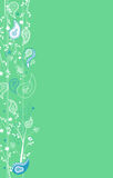 Paisley Page Decoration Royalty Free Stock Images