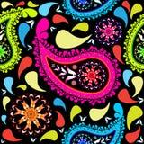Paisley pattern. Abstract seamless texture; vector art illustration vector illustration