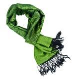 Paisley pattern cashmere scarf Stock Photo