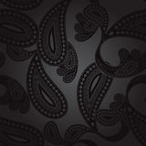 Paisley pattern in  format Stock Photo