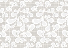Paisley pattern on a light beige background.Wallpa Stock Image