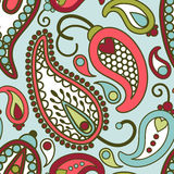 Paisley pattern Stock Images