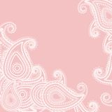 Paisley pink Royalty Free Stock Images