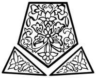 Paisley projekt royalty ilustracja