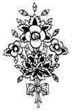 Paisley projekt Obrazy Royalty Free