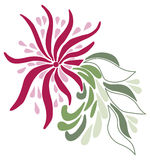 Paisley projekt Obraz Royalty Free