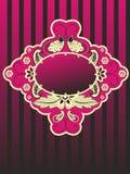 paisley ramowy rocznik Obrazy Royalty Free