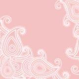 Paisley rosa färger Royaltyfria Bilder