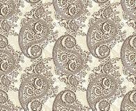 Paisley sömlös bakgrund Royaltyfri Foto