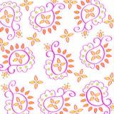 paisley schematu Obraz Royalty Free