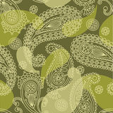 Paisley seamless. Vector images, wallpaper Stock Image