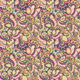 Paisley seamless background Royalty Free Stock Images