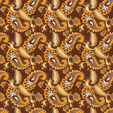 Paisley seamless background Royalty Free Stock Photos