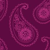 Paisley seamless background Royalty Free Stock Image