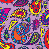 Paisley seamless Royalty Free Stock Photos