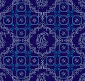 Paisley seamless damask wallpaper. For wall decoration Stock Photos