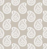 Paisley seamless designer wallpaper Stock Images
