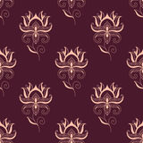 Paisley seamless floral pattern Stock Photos