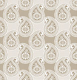Paisley seamless luxurious wallpaper Royalty Free Stock Photos