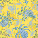Paisley seamless pattern. Seamless ornament of the Turkish cucumber, paisley Royalty Free Stock Image