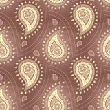 Paisley Seamless Pattern Royalty Free Stock Image
