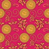 Paisley seamless pattern background Stock Image